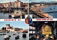 BT6362 Saint Jean de Luz port et maison de l ingants        France