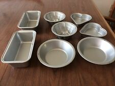 MIni Metal Baking Pans 8 Pieces