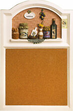 OLDE COUNTRYSIDE STYLE 3D KITCHEN WALL MEMO NOTE PIN CORK BOARD PINBOARD 1757