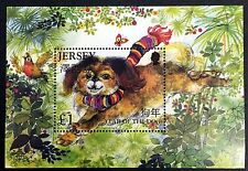 2006 JERSEY YEAR OF THE DOG STAMPS SOUVENIR SHEET CHINESE LUNAR NEW YEAR STAMPS