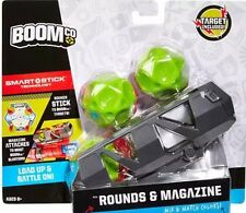 New Boomco SMART STICK BLASTER ROUNDS AND MAGAZINE TARGET AMMO GUN