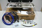Campervan Smev 9222 Hob and Sink,12vTap, Pump,Truma Reg, Gas fittings, Template