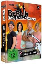 Berlin-Tag & Nacht - Staffel 17,Folge 316-334 *4 DVD*NEU*