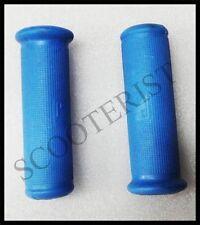 Vespa Handle Rubber Grips Set Blue Vba Vbb Super Sprint 150 125  GS SS PX LML