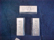 ZINC INGOT,CRAFTS,PLATING,ANODES.BULLION,MOLDS, 10/11 OZ.EA. 99 % PURE