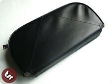 VESPA/LAMBRETTA Back Rest Slipover Cover/Pad Black