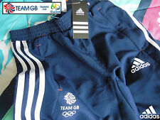 ADIDAS TEAM GB ISSUE - TRAINING FOR RIO 2016 - ATHLETE TRAINING PANTS