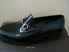 Gucci Mens Black Horsebit Rubber Loafer Shoes Size 12 Rain Shoe. Slick!