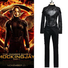 New Film The Hunger Games 3 Mockingjay Katniss Everdeen cosplay costume Black