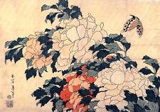 Hokusai Poster 11 cm 35x50 Poster Fine Art su Carta Fotografica Opaca Papiarte