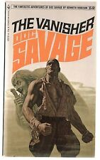 Doc Savage Book 52 The Vanisher Paperback Novel 1st Print Bantam FN+