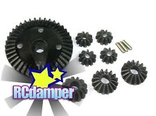 HARD STEEL DIFF BEVEL & RING GEAR 8PC HPI BULLET MT ST 3.0 WR8 FLUX DIFFERENTIAL