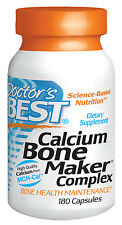 Calcium Bone Maker Complex - Doctor's Best - 180 Capsules