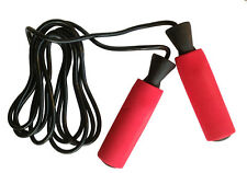 AQF Pro Boxing Skipping Rope Adjustable Speed Jump RED