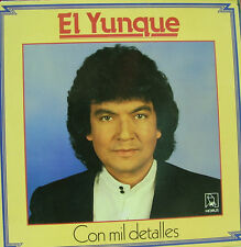EL YUNQUE- CON MIL DETALLES LP VINYL SPAIN 1989 EXCELLENT CONDITION
