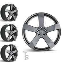 4x 17 Zoll Alufelgen für Hyundai Tucson / Dezent TD graphite (B-0802704)