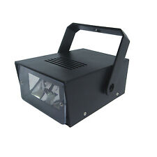 Cheetah Battery Operated LED Mini Strobe Black with Speed Control  Disco Light