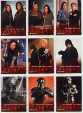 """WITCHBLADE"" SEASON 1 COMPLETE PREMIUM 81 MOVIE TRADING CARD SET"