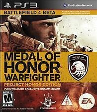 Medal of Honor Warfighter Project Honor Edition GAME SONY PLAYSTATION 3 PS PS3