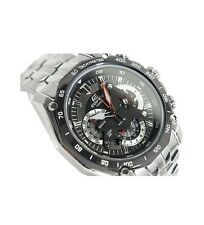 Imported Casio Edifice EF-550 Black dial Retrograde Chronograph Watch for Men