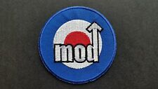 MOD SKA SCOOTER SEW ON / IRON ON PATCH:- PATCH No 1229 NAME TO FOLLOW