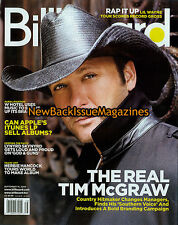 Billboard 9/09,Tim McGraw,September 2009,NEW
