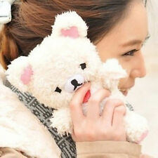 3D Luxury Cartoon Cute Q Animal Toy Lucky Teddy Bear Doll Plush Phone Case Cover