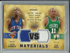 Wilson Chandler-Glen Davis 09/10 Upper Deck Game Used Jersey #353/600