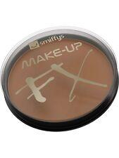 Smiffys FX Maquillaje Disfraz Pintura De Cara Base Agua 16ml Marrón Claro