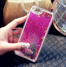 New Bling Quicksand Glitter Stars Phone Case Cover Back For iPhone 4/5/6/7 Plus