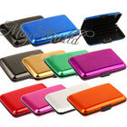 Aluminum Metal Waterproof Box Case Business ID Credit Card Holder Wallet CAIS