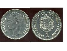 VENEZUELA  1 bolivar 1986