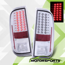 2008-2016 Ford F250/F350/F450/F550 Super Duty LED Chrome Rear Brake Tail Lights