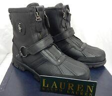 Polo Ralph Lauren Conquest III High Boots  9.5D Black $139.00