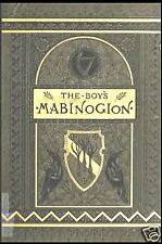THE BOY'S MABINOGION 1880 OLD BOOK ON CD ~ WELSH TALES KING ARTHUR S.C. LANIER