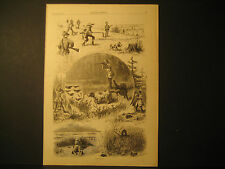 A. B. Frost, Fall Sporting, Engravings 1877