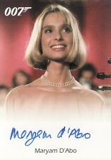 Quotable James Bond Maryam D'Abo as Kara Milovy USA Case Incentive Auto Card