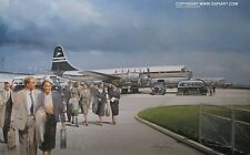 BOAC BRITISH AIRWAYS  STRATOCRUISER ART PRINT B.O.A.C.