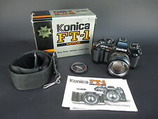 Konica FT-1 Motor Camera with Hexanon AR 50mm F1.4 Lens