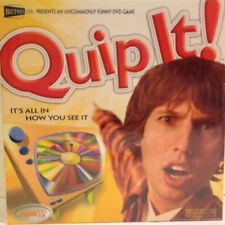 Quip It! DVD Game New / Sealed 2005 Screenlife Games 'uncommonly funny'