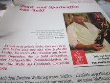 Das war die DDR Alltag Einkaufen Jagd- und Sportwaffen Suhl VEB Ernst Thälmann