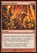 VOLCANIC FALLOUT NM mtg Conspiracy Red - Instant Unc