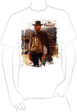 Clint Eastwood spaghetti western t-shirt the good the bad the ugly rugged - A10