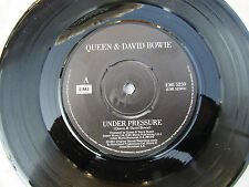 QUEEN DAVID BOWIE UNDER PRESSURE / SOUL BROTHER emi 5250 ex+...... 45rpm / rock