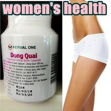 100 x Dong Quai  Tablets : Sexual Health Menopause Angelica free ship
