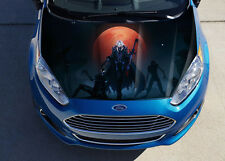 Night Elf #1 Car Hood Wrap Full Color Vinyl Sticker Decal Fit Any Car