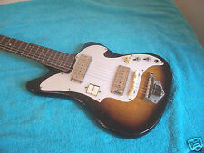 60's Vintage Audition Zenon electric guitar Mahogany bdy Gold foil pickups Japan
