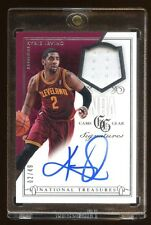 2013 NATIONAL TREASURES KYRIE IRVING #D 02/49 AUTO 1/1 JERSEY NUMBER AUTOGRAPH !