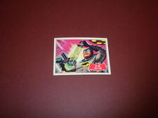 BATMAN card #25A Topps 1966 red bat/puzzle back