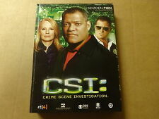 3-DISC DVD BOX / CSI: CRIME SCENE INVESTIGATION - SEIZOEN 10 - DEEL 1